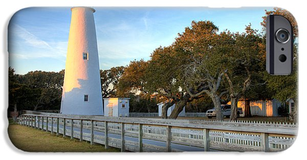 Pamlico Sound iPhone Cases - Ocracoke Last Light - Outer Banks iPhone Case by Dan Carmichael
