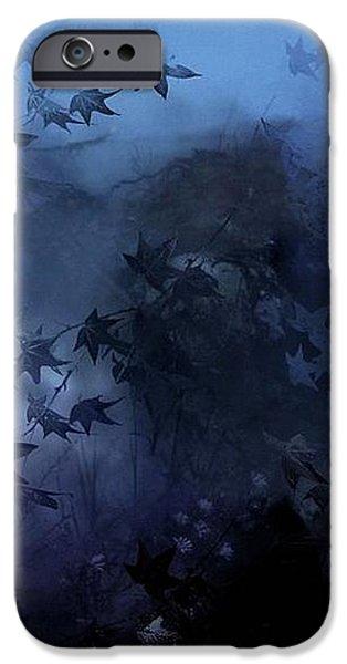 October blues iPhone Case by Gun Legler