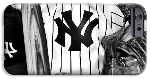 Pinstripes iPhone Cases - October Dreams iPhone Case by John Rizzuto