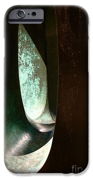 Ode to Rosenthal A iPhone Case by Jennifer Apffel