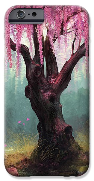 Asian iPhone Cases - Ode To Spring iPhone Case by Steve Goad