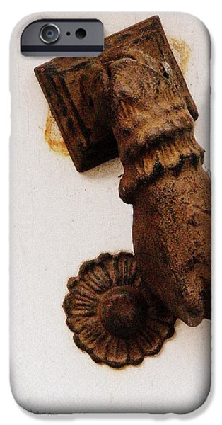 Off It's Knocker iPhone Case by Lainie Wrightson