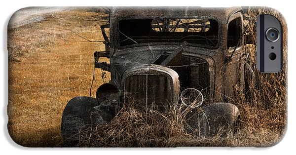 Rust iPhone Cases - Off Road Vehicle iPhone Case by Toni Johnson Harryman