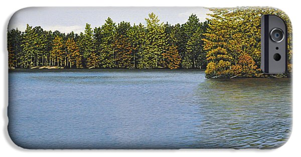 Canoe iPhone Cases - Off the Dock iPhone Case by Kenneth M  Kirsch