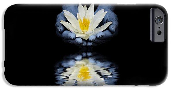Waterlily iPhone Cases - Offering of the lotus iPhone Case by Tim Gainey