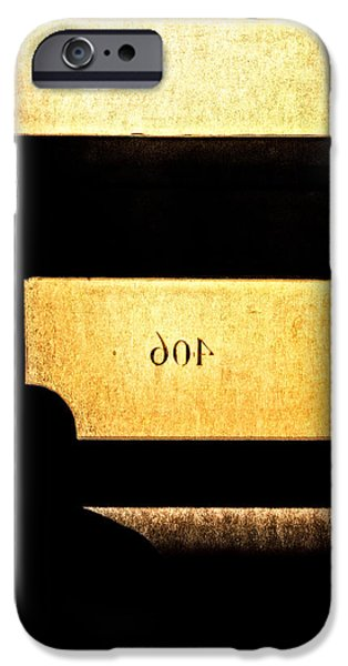 Abstract Expressionism iPhone Cases - Office 406 iPhone Case by Bob Orsillo