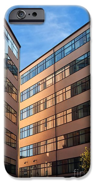 Office Building malmo iPhone Case by Antony McAulay