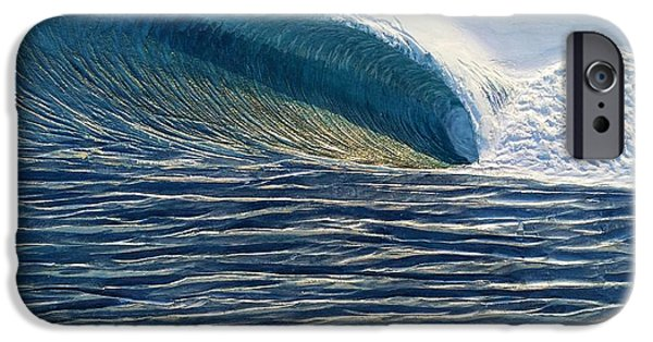 Ocean Reliefs iPhone Cases - Offshore iPhone Case by Nathan Ledyard