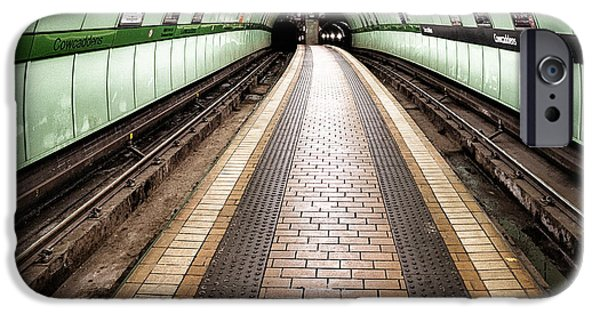Subways iPhone Cases - Oh so quiet iPhone Case by John Farnan