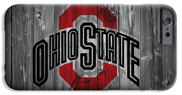 Barns iPhone Cases - Ohio State University iPhone Case by Dan Sproul