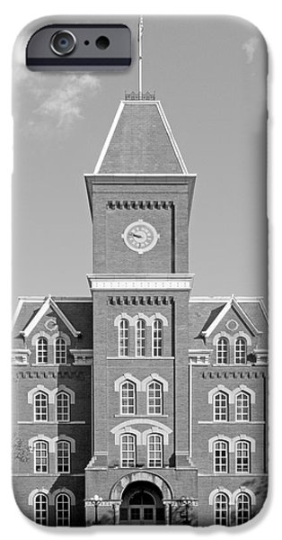 Land-grant iPhone Cases - Ohio State University Hall iPhone Case by University Icons