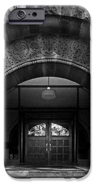 Ohio State University Hayes Hall iPhone Case by University Icons
