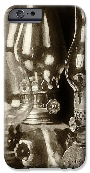 Oil Lamps iPhone Case by Patrick M Lynch