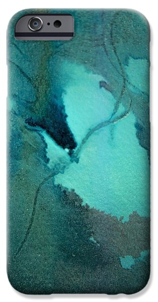OIL SPILL DEEP WITHIN THE HEART OF THE GULF iPhone Case by James Welch