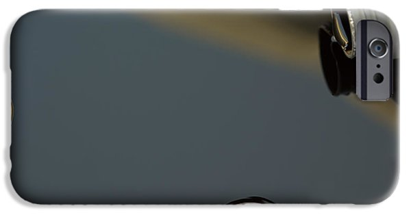 Oil Slick iPhone Cases - Oil Spill iPhone Case by MX Designs