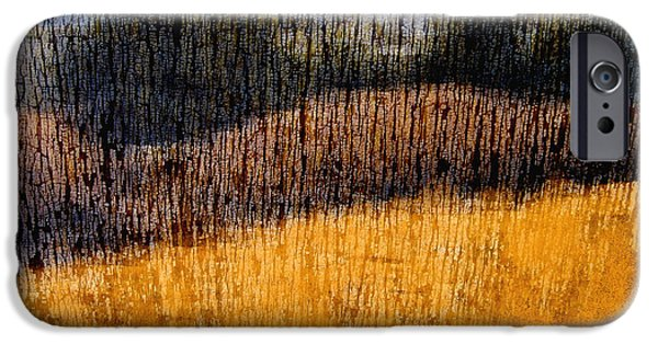 Photographs Mixed Media iPhone Cases - Oklahoma Prairie Landscape iPhone Case by Ann Powell