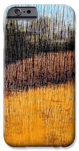 Oklahoma Prairie Landscape iPhone Case by Ann Powell