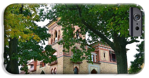 Church Pillars Paintings iPhone Cases - Olana 6 iPhone Case by Lanjee Chee