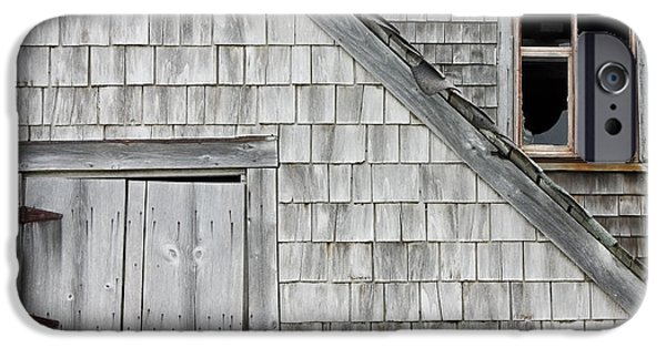 Maine Barns iPhone Cases - Old Abandoned Building iPhone Case by Keith Webber Jr