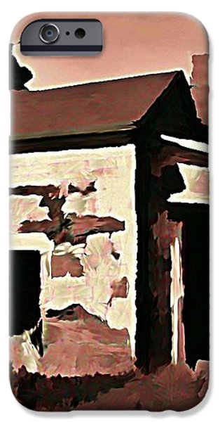 Old Abandoned House in Cape Breton iPhone Case by John Malone