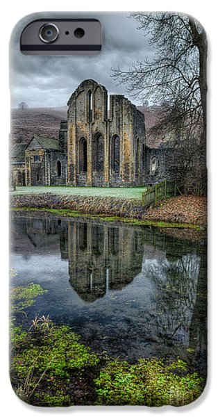 13th Century iPhone Cases - Old Abbey iPhone Case by Adrian Evans