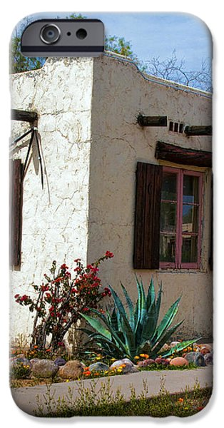 Old Adobe Cottage iPhone Case by Brian Lambert