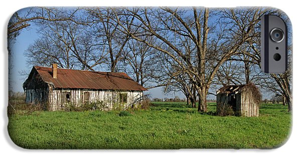 Old Barns iPhone Cases - Old and Forgotten iPhone Case by Kim Hojnacki