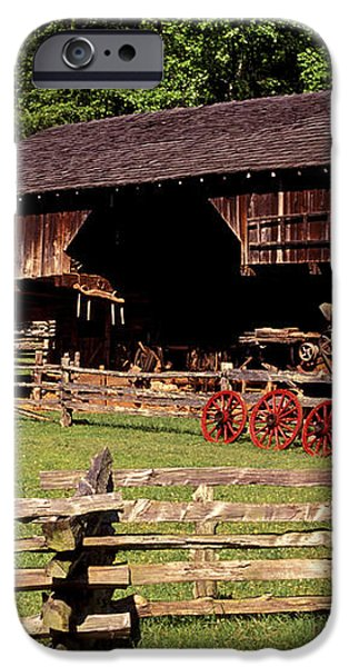 Old Appalachian Farm Cantilevered Barn iPhone Case by Paul W Faust -  Impressions of Light