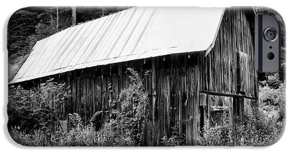 Old Barns iPhone Cases - Old Barn 03 iPhone Case by Gordon Engebretson