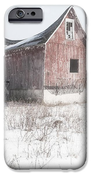 Old Barn - Brokeback shack iPhone Case by Gary Heller