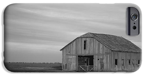 Old Barn iPhone Cases - Old Barn  iPhone Case by Gary Langley