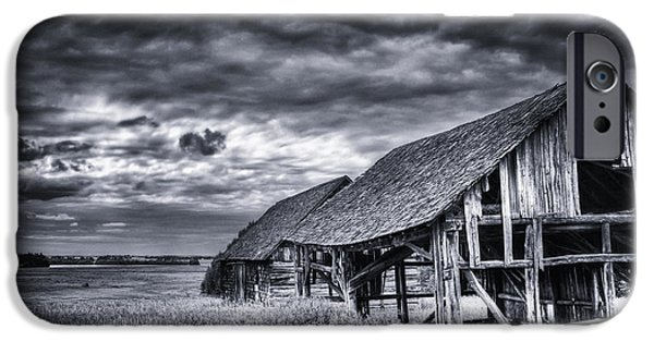 Old Barns iPhone Cases - Old Barn iPhone Case by Ian MacDonald