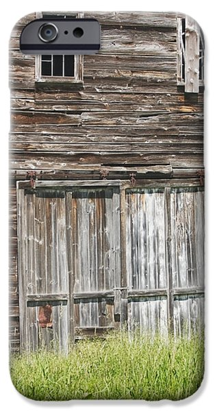 Old Barns iPhone Cases - Old Barn In Maine iPhone Case by Keith Webber Jr