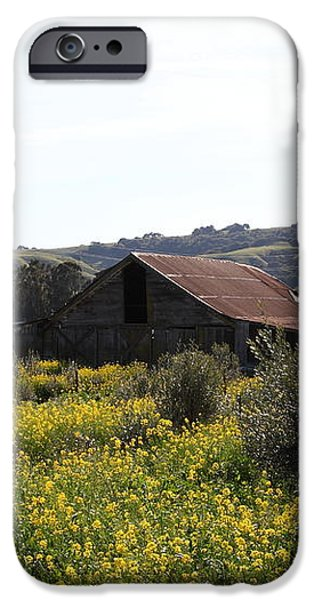 Old Barn in Sonoma California 5D22234 iPhone Case by Wingsdomain Art and Photography