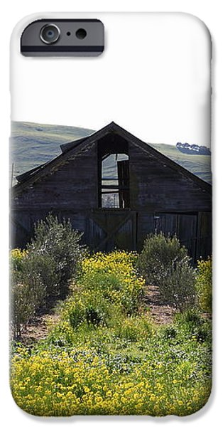 Old Barn in Sonoma California 5D22235 iPhone Case by Wingsdomain Art and Photography