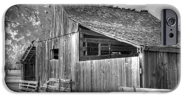 Old Barns iPhone Cases - Old Barn iPhone Case by Jane Linders