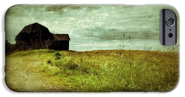Barns iPhone Cases - Old Barn iPhone Case by Jeff Klingler
