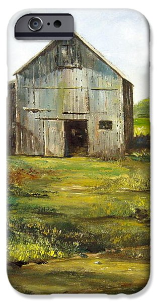 Old Barn iPhone Case by Lee Piper