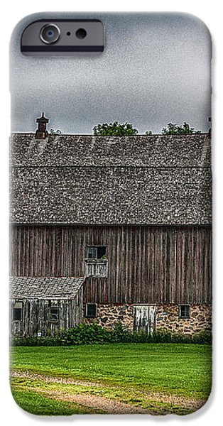 Old Barn On A Stormy Day iPhone Case by Paul Freidlund