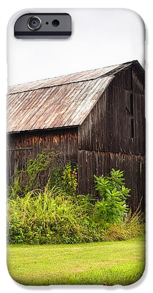 Old barn on Seneca lake - Finger Lakes - New York State iPhone Case by Gary Heller