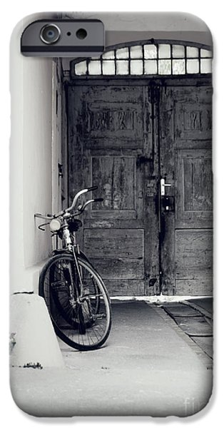 Old Bicycle iPhone Case by Jelena Jovanovic