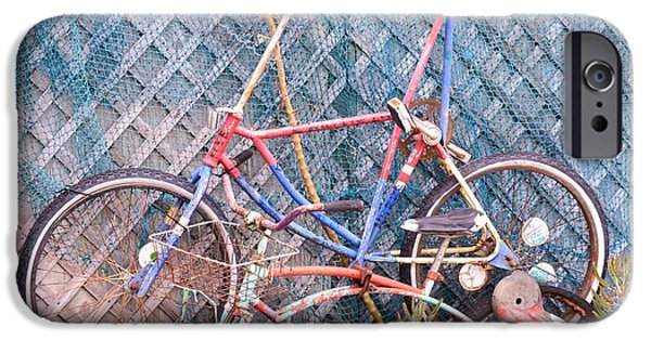 Sailing iPhone Cases - Old Bikes iPhone Case by Gregg Spafford