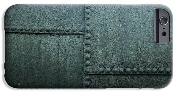 Industrial Pastels iPhone Cases - Old Boiler iPhone Case by Russ Dixon