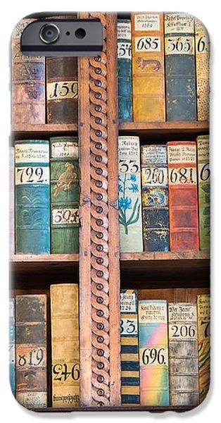 Old books in prague iPhone Case by Matthias Hauser