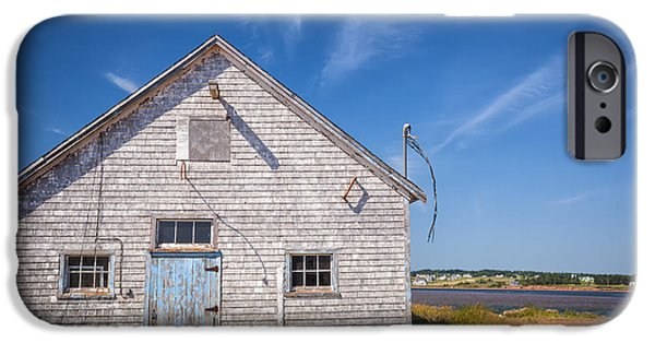 Village iPhone Cases - Old building in North Rustico iPhone Case by Elena Elisseeva