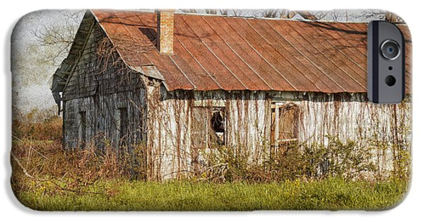 Old Barns iPhone Cases - Old But Not Forgotten iPhone Case by Kim Hojnacki