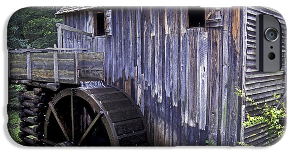 Grist Mill iPhone Cases - Old Cades Cove Mill iPhone Case by Paul W Faust -  Impressions of Light