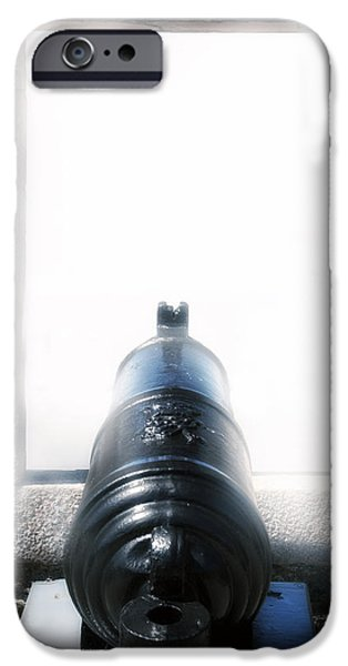 Artillery iPhone Cases - Old Cannon iPhone Case by Joana Kruse