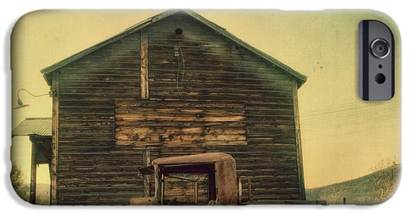 Village iPhone Cases - Abandoned iPhone Case by Priska Wettstein