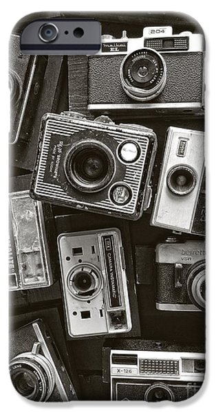 Aperture Photographs iPhone Cases - Old Cheese iPhone Case by Charles Dobbs